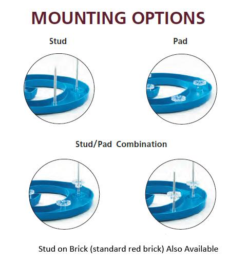 Plasticmounting