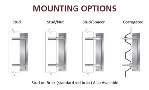 aluminum mounting options