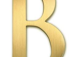 Brass Letters