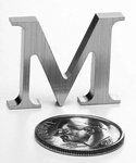 Mini Aluminum Letters