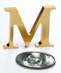 Mini Bronze Letters