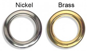 Brass Grommets & Nickel Grommets