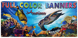 Full Color Vinyl Banners