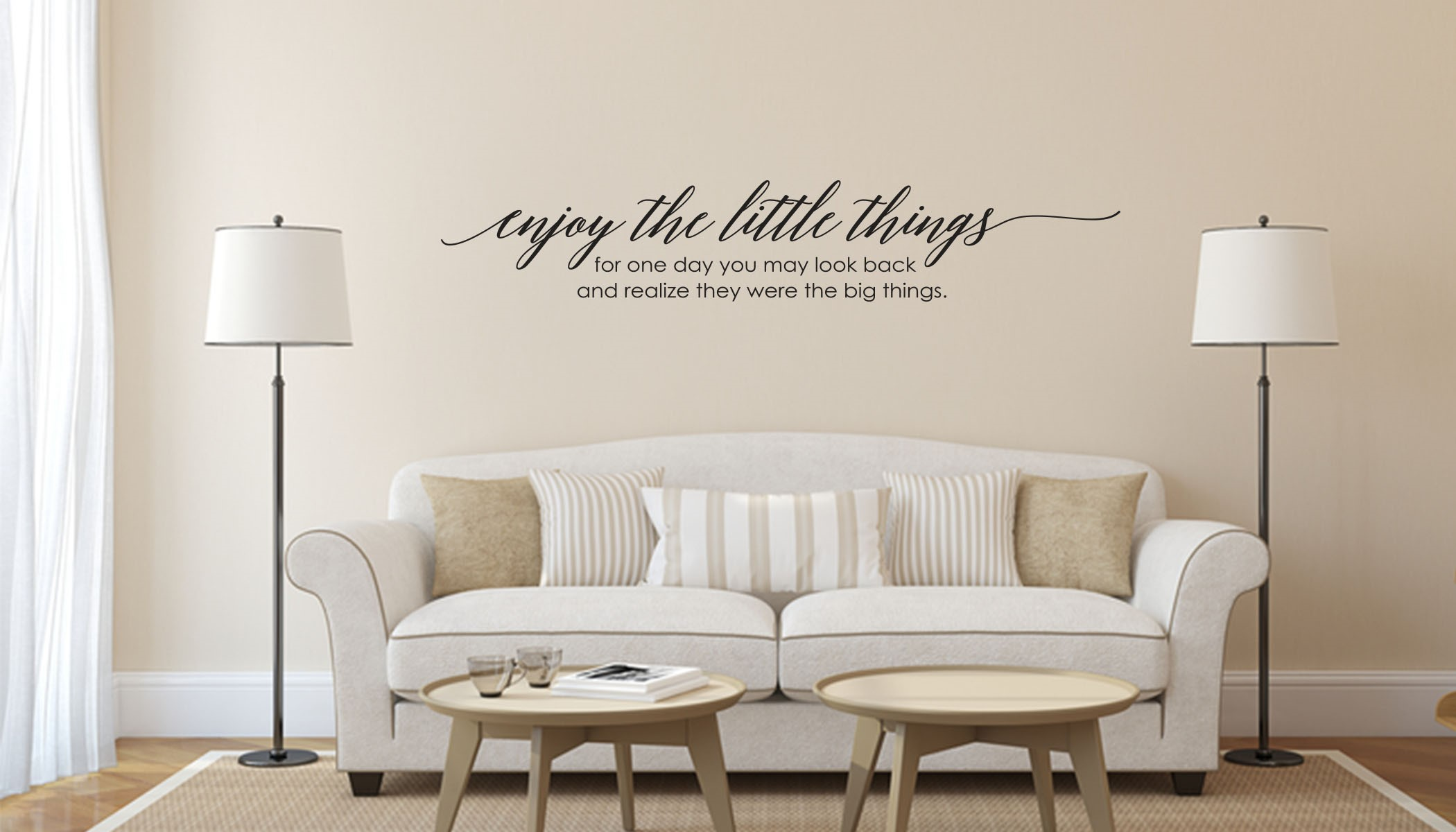 Vinyl Wall Quotes for Home Decor - American Sign Letters